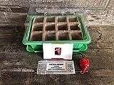 ,Carolina Reaper Chili'' Anpflanz-Set 6 Teile (Gewächshaus, Samen und Substrat)