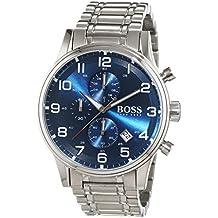 Hugo Boss 1513183–Reloj de pulsera para hombre, con cronógrafo de cuarzo y correa de acero inoxidable