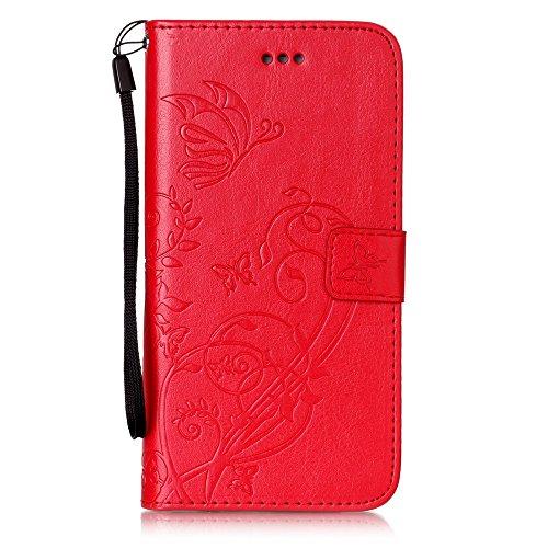 Coque iPhone 7 Plus, Meet de pour Apple iPhone 7 Plus (5,5 Zoll) Folio Case ,Wallet flip étui en cuir / Pouch / Case / Holster / Wallet / Case, Apple iPhone 7 Plus (5,5 Zoll) PU Housse / en cuir Walle D