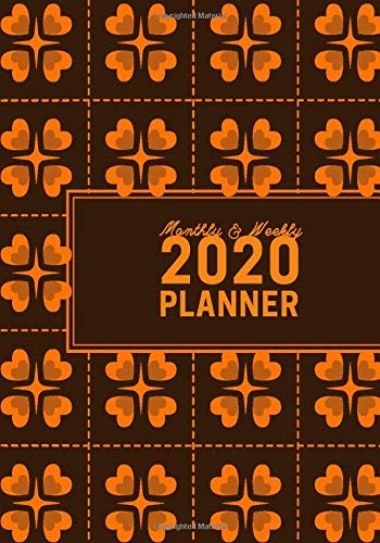 Monthly & Weekly 2020 Planner: Yearly Schedule Planner Notebook, Monthly Daily Organizer, Appointment and Personal Activity Monitor, Gifts for Family, ... 120 (Calendar Planner, Band 24) (Obst-desktop-organizer)