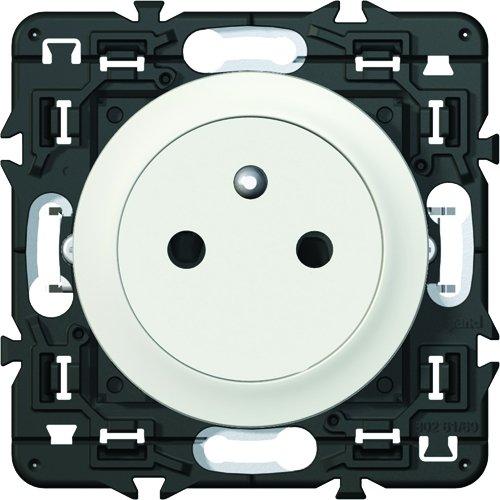 Legrand Celiane LEG99703 electric socket with earth 2P + T flush white to be built