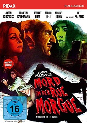 Mord in der Rue Morgue (Murders in the Rue Morgue) / Hochspannende Edgar Allan Poe-Gruselverfilmung mit Starbesetzung (Pidax Film-Klassiker) (Dollar Silver Charme)