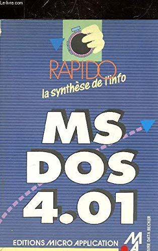 MS-DOS, version 4.01