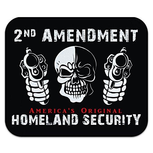 2nd änderungsantrag Amerikas Original Heimatland Sicherheit–Zweite Skull Guns Mauspad Mauspad