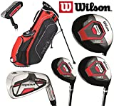 Wilson Prostaff Steel Shafted Irons HDX Complete 11 Peice Golf Club Set