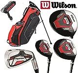 Wilson Golf-Set Pro Staff Hdx 1,3,4,5-S,P,B schwarz