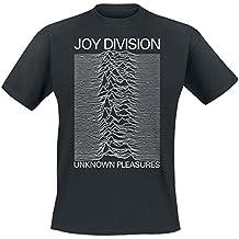 Joy Division Unknown Pleasures Camiseta Negro