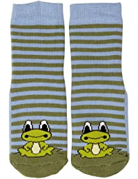 Country Kids Slipper Frog Animal Print Socks