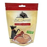 Pet Cuisine Friandise pour Chien,Rondelles Moelleuse de Patate Douce,100g