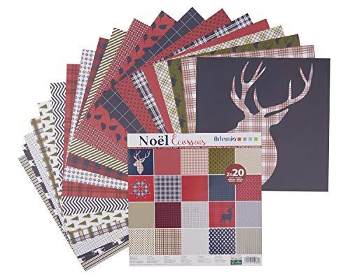 Artemio Scrapbook-Block Noel écossais - Noel Block