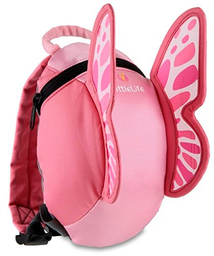 (Relags LittleLife Kleinkind-Daypack Animal Kinder-Rucksack, 40 cm, Schmetterling)