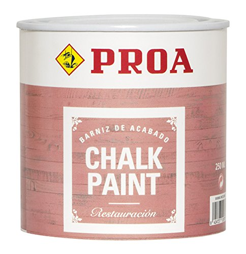 Proa BX000G Barniz Chalk Paint 250 ML, Transparente
