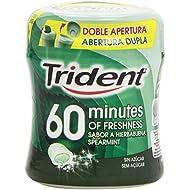Trident Chicle Hierbabuena sin Azúcar - 80 g