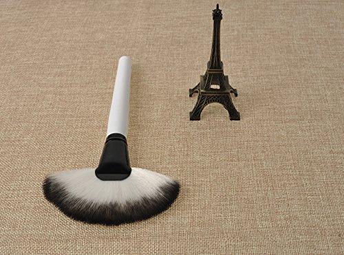 XNWP-Ventilateur fibre pinceau pour peindre les cheveux perte de la preuve pour le maquillage maquillage maquillage pinceaux outils de beauté