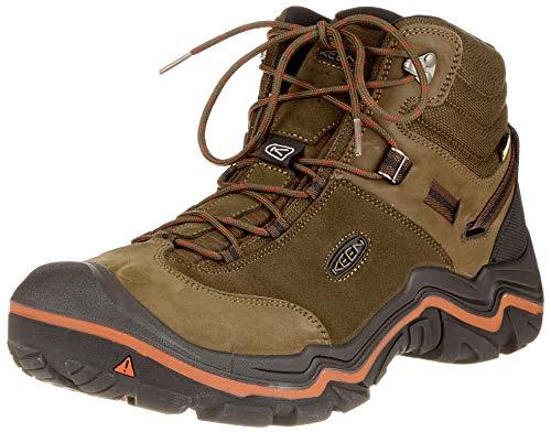 f015e83f1958d6 KEEN Men's Wanderer Waterproof Mid High Rise Hiking Shoes, Cascade  Brown/Bossa Nova 0