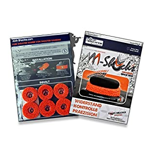 AAA-Shocks (Original Analogstick Aim Assistance Stossdämpfer Zielhilfe für Shooter Games): Uggly Orange Infantry für Razer Raiju Pro Controller