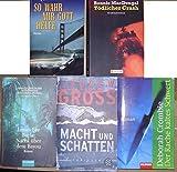 5 Taschenbücher: Nacht über Babylon + Der Rache kaltes Schwert + Tödlicher Crash + So wahr mir Gott helfe + Macht und Schatten