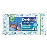 Dry Nites Mutandine assorbenti per la notte, bimbo, 4-7 anni (17kg - 30kg), confezione da 10 pezzi
