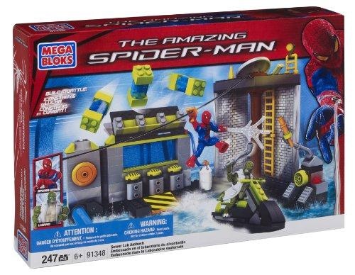 Mega Bloks 91348 Spiderman Emboscada bajo el Suelo
