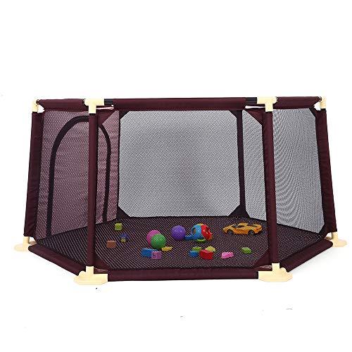 ZJY Kids Ball Pit, Pool, Play Yard, Laufstall - 15 Quadratmeter Mesh Game Space - ABS-Unterstützung Oxford Cloth - Indoor Outdoor-Spiele - Beste Ausrüstung, um Eltern zu befreien