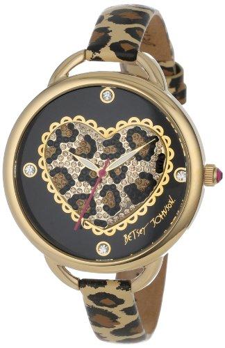 Johnson Uhren (Betsey Johnson bj00067–14Uhr für Frauen)