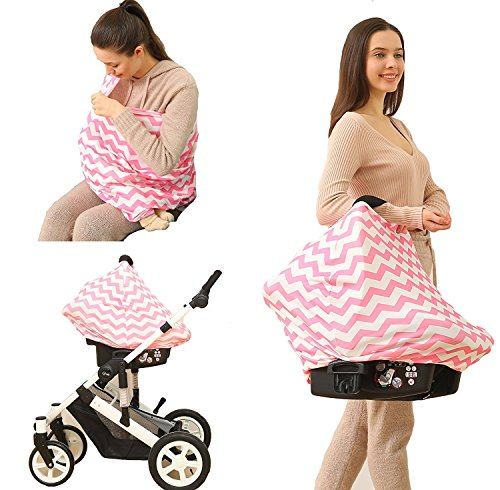 Kiddo Care Nursing Cover Infinity Nursing Sciarpa per lallattamento al seno