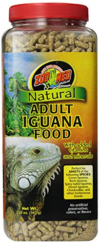 Zoo Med  Natural Iguana Food Adult, 567g, Futterpellets für Leguane