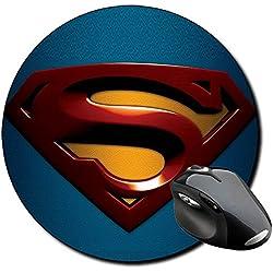 Superman Returns Alfombrilla Redonda Round Mousepad PC