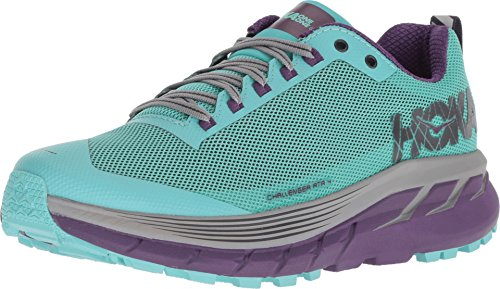 Hoka One W Challenger ATR 4 Pool Blue Grape Royale 1018295 - Scarpe da Corsa da Donna, Colore: Blu, Multicolore (Pool Blue Grape Royale), 43 1/3 EU