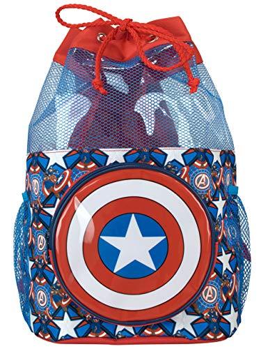 Marvel Bolsa Natación Niños Capitán América