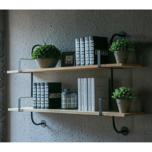 Schwebender Einheitsrahmen Wand-Bücherregal Separator Eisen-Holz Wandregal Wandmontierter...