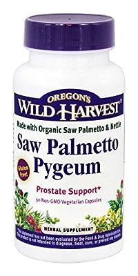Oregon's Wild Harvest - Saw Palmetto Pygeum - 90 Vegetarian Capsules from Oregon's Wild Harvest