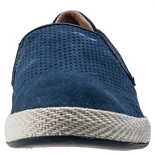 LACOSTE - Herren Slipper - Tombre - Blau Schuhe in Übergrößen Navy