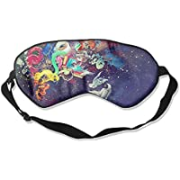 Sleep Eye Mask Abstract Space Lightweight Soft Blindfold Adjustable Head Strap Eyeshade Travel Eyepatch E8 preisvergleich bei billige-tabletten.eu