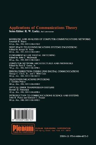 Modern Telecommunication (Applications of Communications Theory)