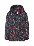 NAME IT Mini Mädchen Jacke, Winterjacke, Anorak Mello Flower in Dress Blues, Größe:92