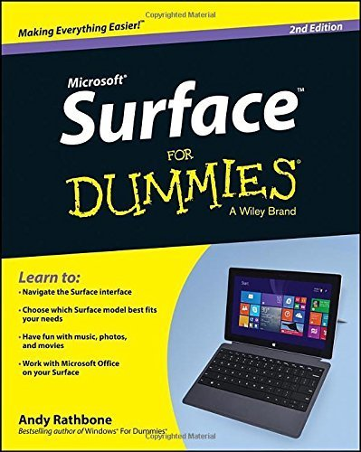 Surface For Dummies (For Dummies (Computer/Tech)) 2nd (second) by Rathbone, Andy (2014) Paperback