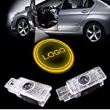 LIKECAR 2pcs New Car Styling LED insignia agradable del laser de la puerta disparos de luz para Mercedes-Benz Clase E W211 Mecedes W124, W201, W202, W126 W209 W203 Clase E SLK CLK SLR