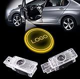 LIKECAR 2pcs New Car Styling LED insignia agradable segunda mano  Se entrega en toda España