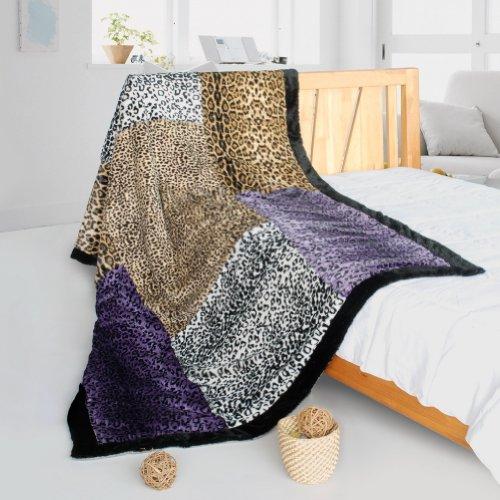 onitiva – [Nature et sexy Couverture Couvre-lit patchwork] (61 par 220 cm)