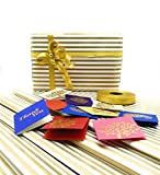#1: Satyam kraft (Pack of 10) Gift Wrapping Stripes design Golden Colour Paper, Envelope Making,Card Making, Scrapbooking and Multipurpose Creative Uses for BIRTHDAY, ANNIVERSARY, WEDDING, CHRISTMAS, FRIENDSHIP DAY, VALENTINE DAY, MOTHER'S DAY, RAKSHABANDHAN, SISTER AND YOUR LOVED ONES WITH FREE 10