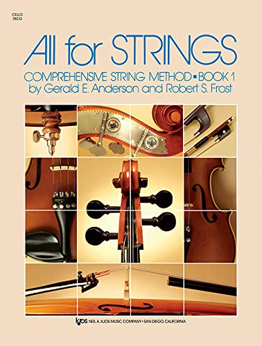All For Strings Book 1 -Cello-: Noten, Sammelband, Lehrmaterial für Cello