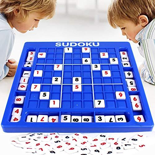 JCT Jiugongge Sudoku Spiel Schach Spielzeug Lehrspiel für Kinder Erwachsene Eltern-Kind-Nummer Spiel Aktion Puzzle Brettspiel (Sudoku) (Aktion Brettspiele)