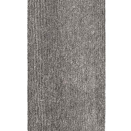 Teppiche JXLBB 100% Polyester Soft Touch Haufen Polyester Grauer Weiche Hohe Elastische Wohnzimmer Schlafzimmer Präzision Samt Höhe 35mm Dicke Nicht Verschütten Weicher Pile (Size : 1.4x2m) -