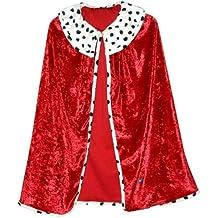 Trullala Königsumhang, Faschingsumhang, König-Kostüm, verschiedene Größen zur Auswahl