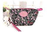Hello Kitty Cosmetic Bag - Trousse per trucchi, colore: Nero