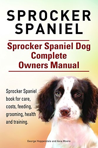 Sprocker Spaniel Sprocker Spaniel Book For Care Costs Feeding