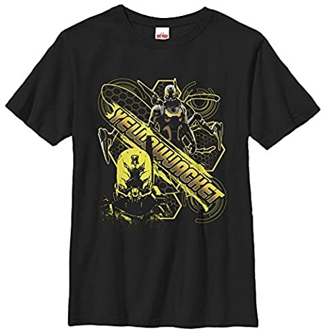 T-shirt enfant Youth: Yellow Jacket- Busy Bee YL - Noir