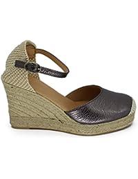 CAPRIUM - Zapatos Mujer , color gris, talla 38 EU