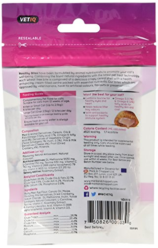 VetIQ Healthy Bites Urinary Care For Cats & Kittens 65g - Pack of 8 5
